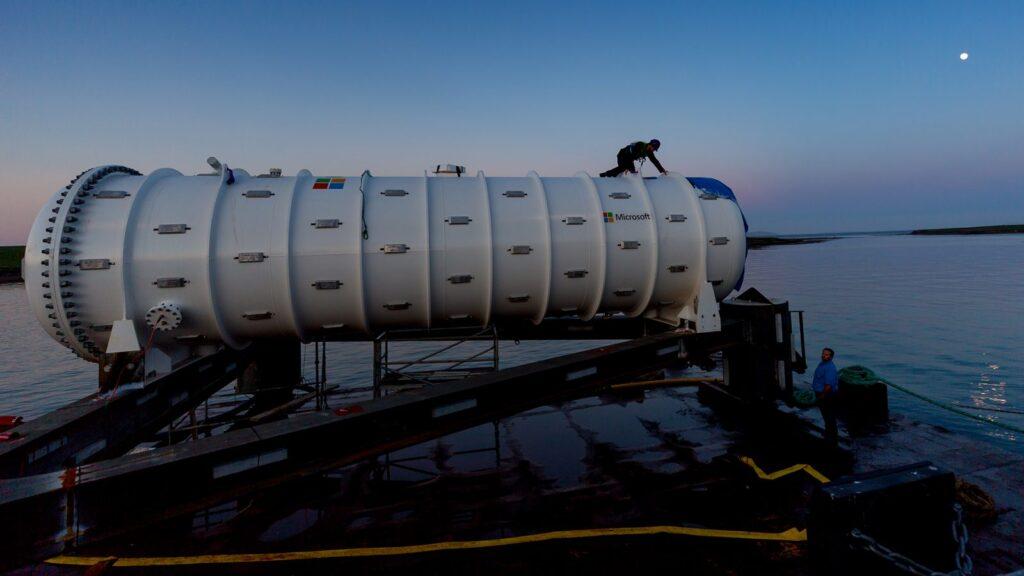 Nel 2018 il datacenter subacqueo è stato inabissato sul fondo marino delle Isole Orcadi.
