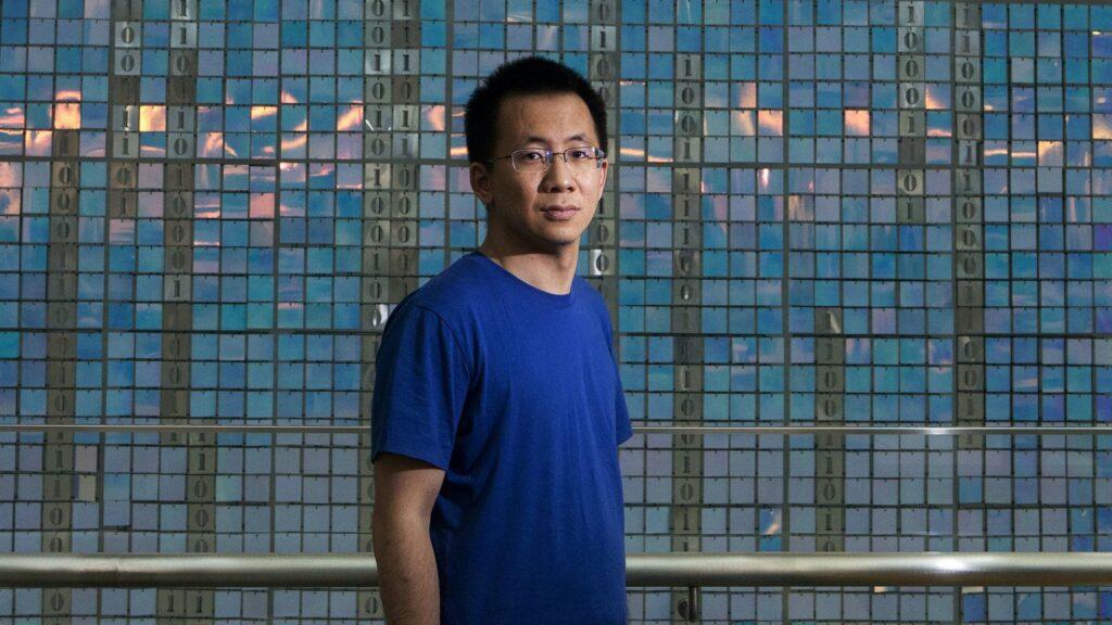 Zhang Yimin, il trentacinquenne a capo di ByteDance. Credits: Tech Fanpage