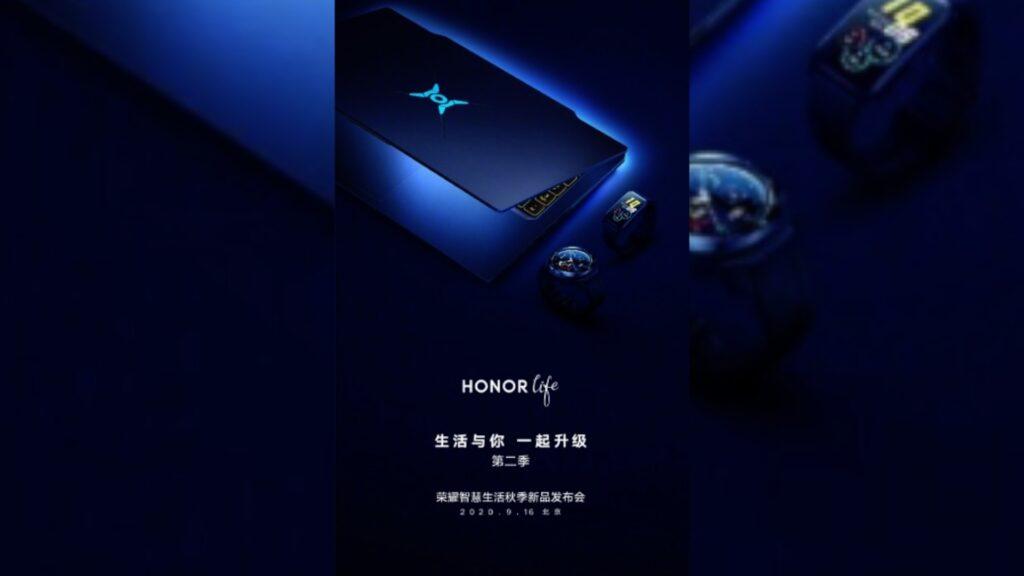 La locandina ufficiale di Honor Hunter, il primo laptop da gaming Huawei. Credits: gizchina.it