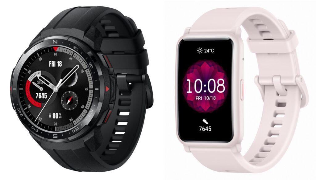 I due smartwatch di Honor: Watch GS Pro (a sinistra) e Watch ES (a destra). Credits: Pocketnow