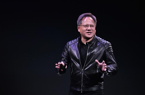 Jensen Huang CEO di Nvidia. Credits: MANDEL NGAN/AFP/Getty Images