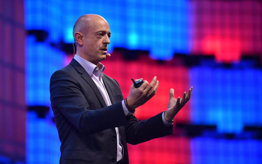 Simon Segars, CEO di ARM. Credits: David Fitzgerald / Web Summit