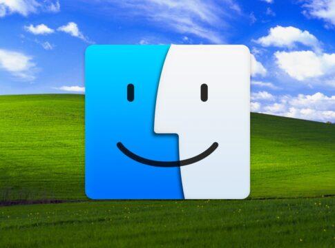 Windows tema XP Aqua Apple
