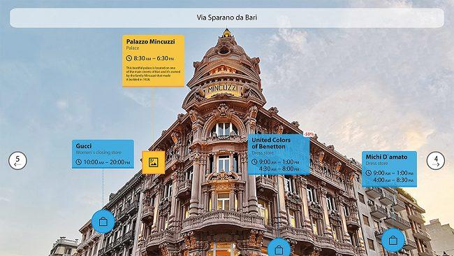 Inquadrando un edificio di Bari in 3D sarà possibile conoscerne la storia