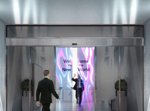 LG schermi OLED porte