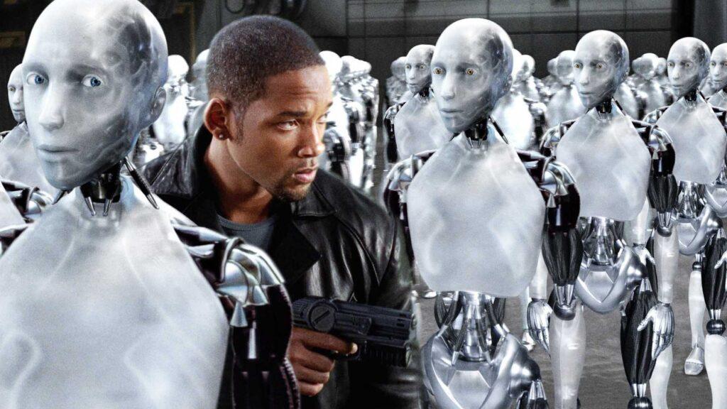 Il film Io, Robot del 2004 ispirato dalla omonima raccolta di racconti fantascienza dello scrittore Isaac Asimov, affronta anche la questione dell'empatia nei robot. Credits: CDN
