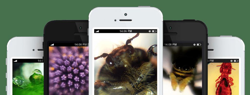 Con le lenti Blips di SMO potrai trasformare il tuo smartphone in un microscopio