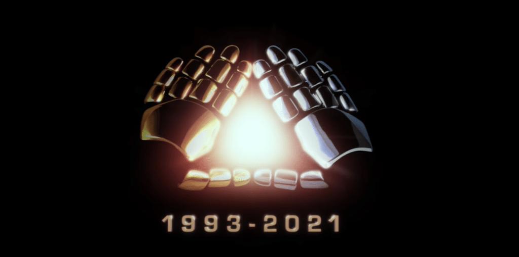 L'immagine simbolo dello scioglimento dei Daft Punk.