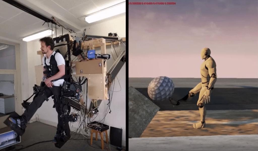 Holotron fornisce un'esperienza di realtà virtuale del tutto nuova. Credits: Inceptive Mind