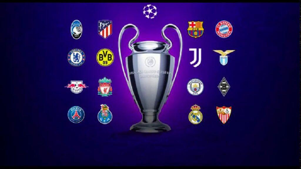 La lista dei club presenti agli ottavi di Champions League 2020-2021