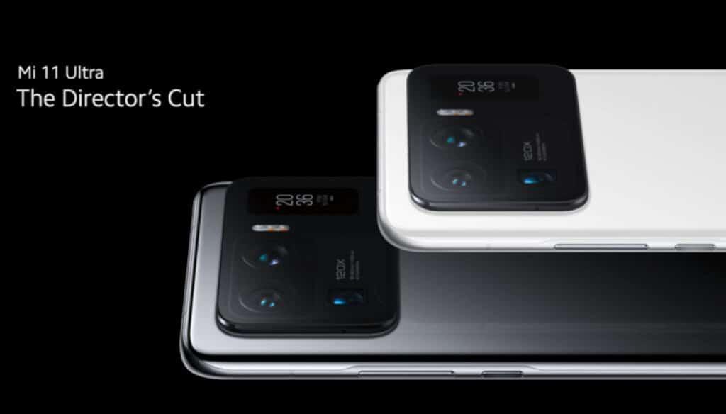Lo Xiaomi Mi 11 Ultra in un'immagine promozionale. Fonte: Libero Tecnologia