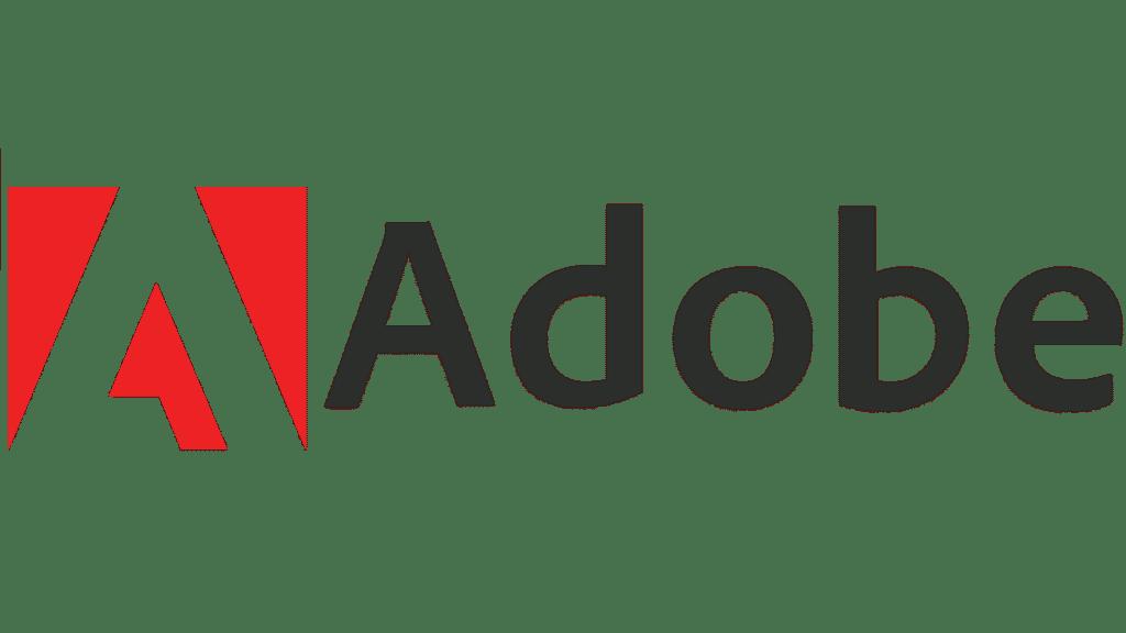 Il logo di Adobe, la celebre società fondata da Geschke e Warnock.