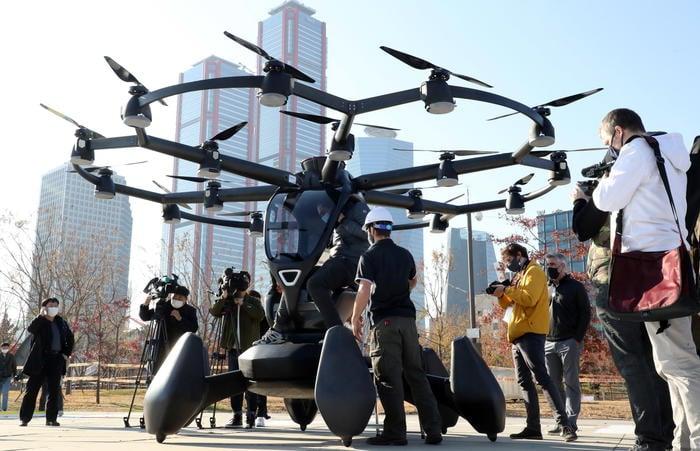 Drone-bus evto in arrivo in America