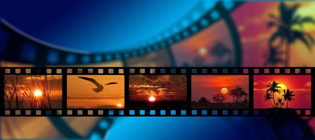 La fibra è in grado di memorizzare anche i frame di un film.