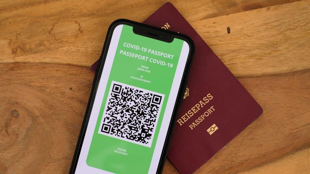 Il QR code presente nel Green Pass.