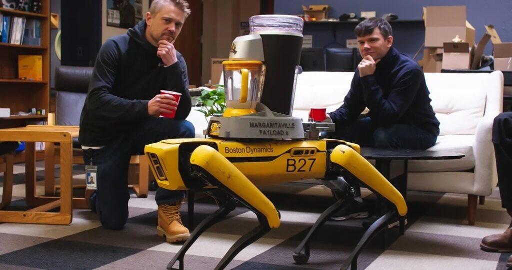Spot, il robot-cane della Boston Dynamics. Fonte: Boston Dynamics