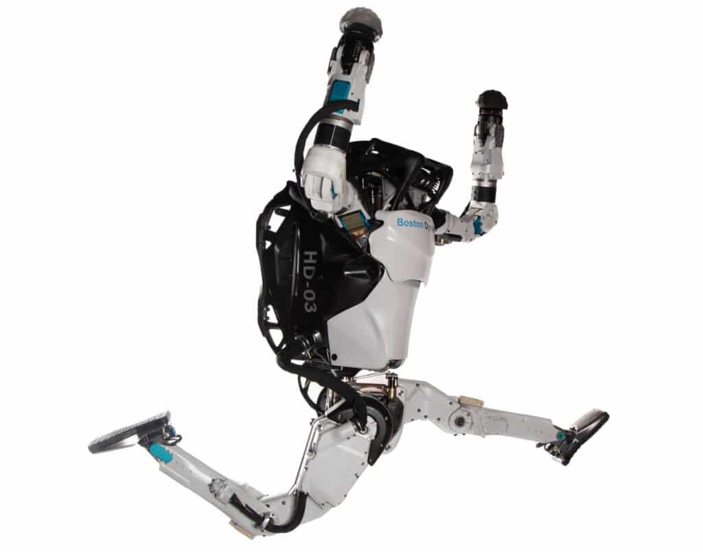 Atlas, l'incredibile robot umanoide di Boston Dynamics. Fonte: Boston Dynamics