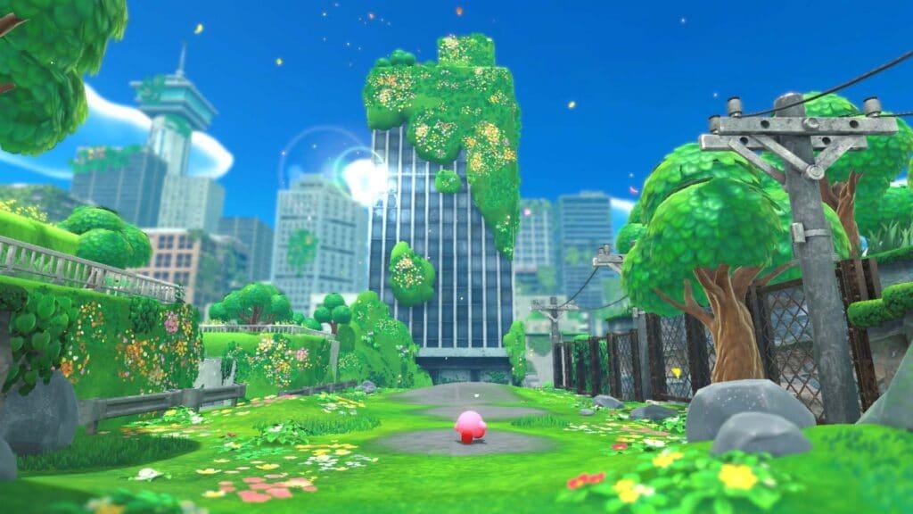 Kirby e la Terra Perduta presentato al Nintendo Direct 2021. Fonte: Nintendo