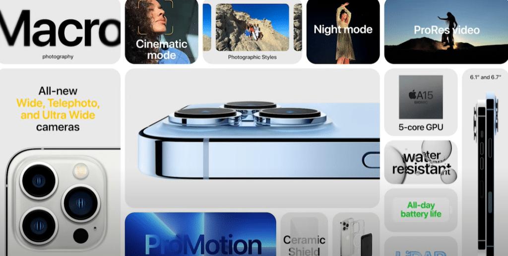 Evento Apple: gli annunci e tutte le novità di Iphone 13 Pro e Pro Max