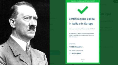 Hitler ha il green pass: hackerate le chiavi di generazione dei certificati?