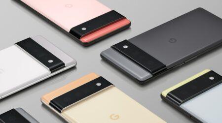 Google presenta i nuovi Pixel 6 e 6 Pro con il nuovo chip Google Tensor